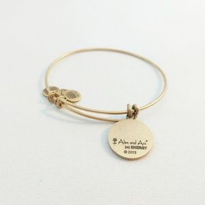 """Alex and Ani Jewelry - Alex and Ani Gold """"Because I Love You"""" Bracelet"""